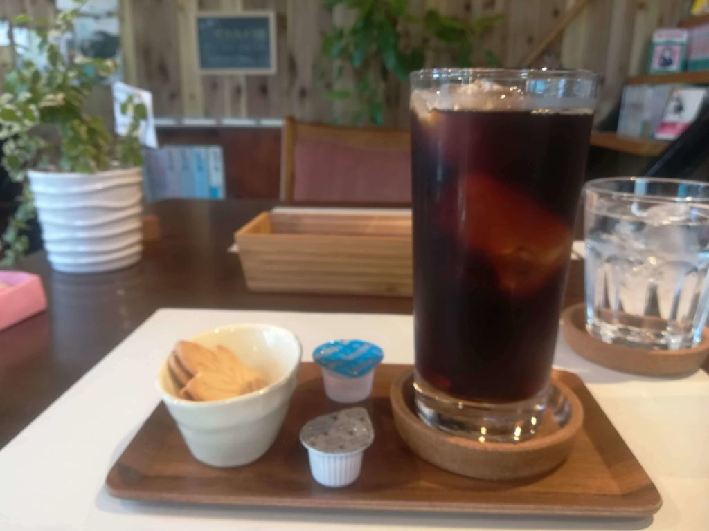 ヨミヤスミのアイスコーヒー