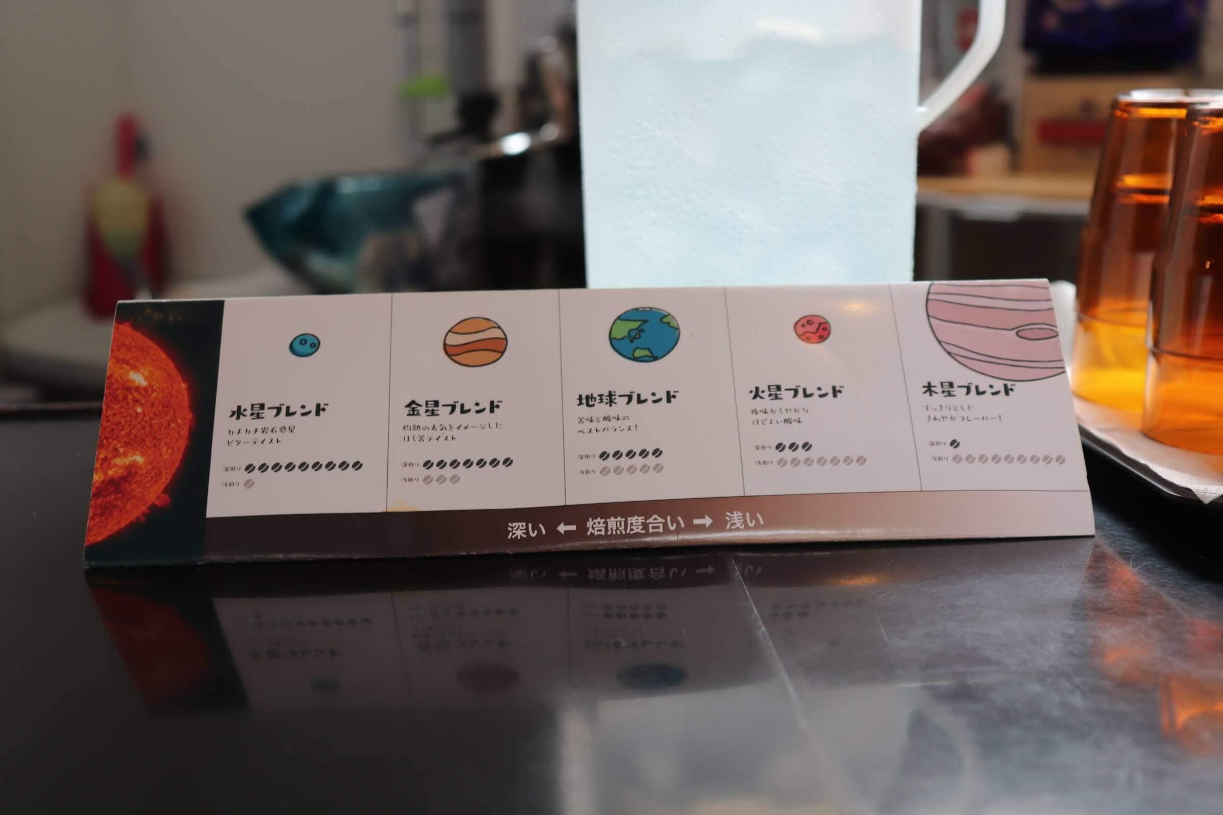 mitakanaovaのコーヒーのブレンド