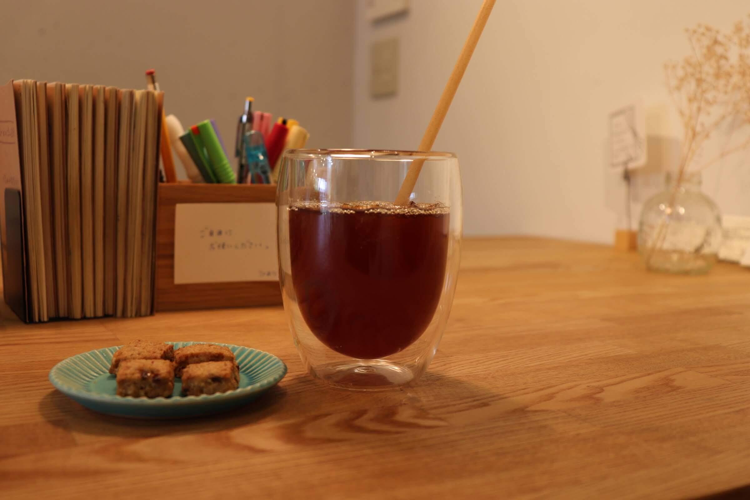 カフェトリエ(TOINOWA)のアイスコーヒー