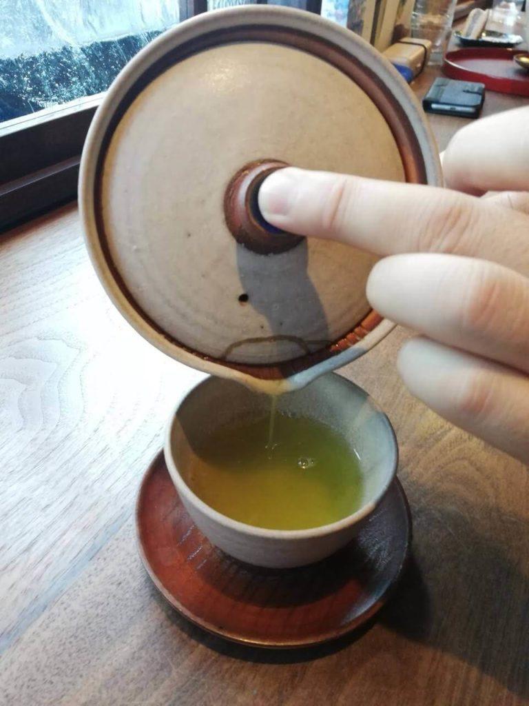 胡桃同喫茶店の緑茶2